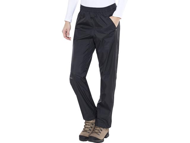 Marmot PreCip Pantalones con cremallera completa Mujer, black